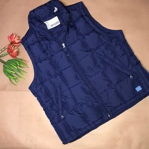 Abercrombie & Fitch goose down puffy vest Large